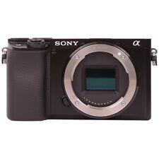 Sony Alpha A6100 Mirrorless 24.2mp 4k Corpo Fotocamera Digitale