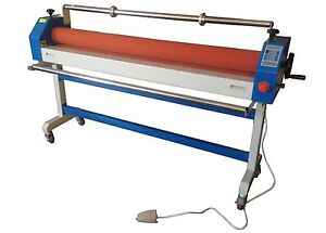 Electric Wide Format Cold Roll Laminating Laminator Machine 1600mm