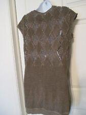 DIESEL crochet lace back sleeveless shirt / vest Size XS