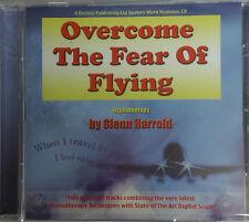 OVERCOME THE FEAR OF FLYING - GLENN HARROLD  AUDIO HYPNOSIS CD
