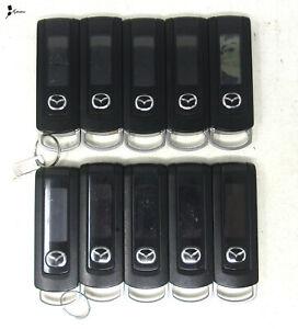Lot of 10 OEM Mazda Remote Start LED Keyless Entry WKE-PZ170-02021 - H1S1