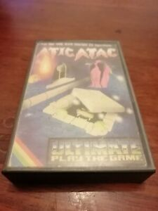 Atic Atac - ZX Spectrum 48K/128K Ultimate Play The Game 1983 Tested/Working