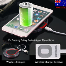 Wireless Fast Charge Charging Pad Wireless Charger Receiver For Samsung Apple