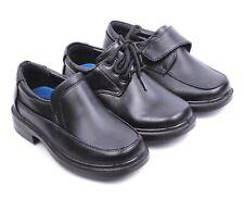 3 Style Church Casual Little Kids Boys Oxford Preschool Formal Dress Black Shoes