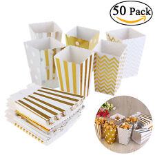 50x Popcorn Boxes Popcorntüten Popcornbecher Papiertüte Popcorn Verpackung DE