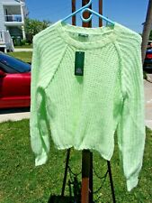 Wild Fable Size XS Light Lime Green Sweater Long Sleeve New With Tags $22.00