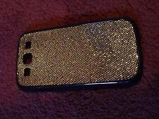 Samsung Galaxy s3 caso duro caso Brillo Rosa Plateado