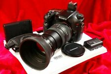 Complete System! Sony A77 24.3 MegaPixel + Sigma 28-200mm Lens