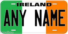 Ireland Flag Aluminum Novelty Car License Plate