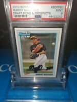 PSA 9  MINT~2010 Bowman Manny Machado Draft Picks PSA Rookie RC Red🔥Padres⚾️🚀