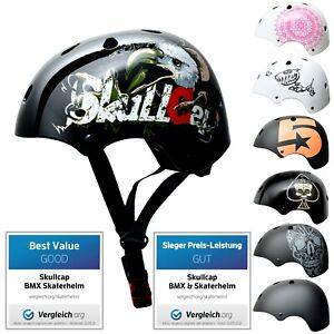 ► SkullCap® Skaterhelm & Fahrradhelm für Kinder ⬤ von 5 - 13 Jahren ⬤ Größe S