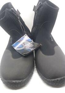 NWT Neosport Boots SB30Z Wet Suit Boots Size 15 3mm Black Scuba Diving Shoes