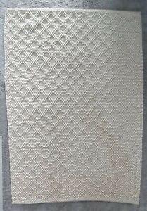 Kelly Hoppen Diamond Wool Blended Woven Rug 120 × 170cm