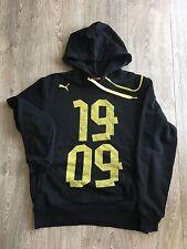 Puma Herren Borussia Dortmund Hoodie 1909 , Schwarz/gelb , Gr. S , Top Zustand