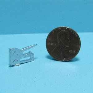 Dollhouse Miniature Metal Handheld Manual Staple Gun ISL0135