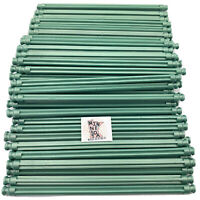 "300 Knex Metallic Green 5-1/8"" Standard Rods Screamin' Serpent K'nex Parts Lot"