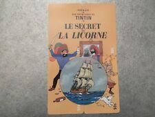 PUZZLE 4 TELECARTES NEUVES - TINTIN - LE SECRET DE LA LICORNE - 500 exemplaires