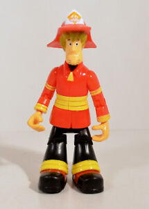 "2007 Fireman Fire Man Shaggy 4.75"" Thinkway Toys Action Figure Scooby-Doo"