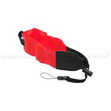 Red Floating Foam Camera Strap for Nikon Coolpix AW100