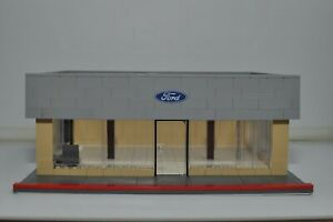 Custom Ford Car Dealership Speed Champions Model Building Built with LEGO