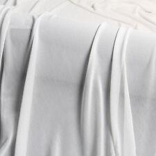 """Premium Power net Plain Colors 40D 160cm 63"""" Wide Soft Tulle Mesh Dress Fabric"""