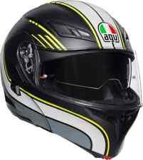 Casco helmet Modulare Modular AGV Compact ST Boston Nero Giallo Grigio Taglia L