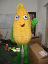 Corn Maize Mascot Costume Adult Suit Crop Cartoon Parade Fancy Dress Outfit 2018