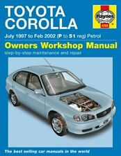 Toyota Corolla E11 Workshop Manual Haynes - Download PDF