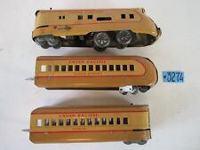 Louis Marx & CO Toys union pacific windup train Set M-10000 1930-40s