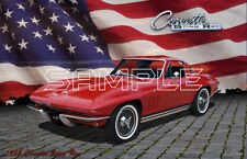1965 Corvette Sting Ray American Classic Print