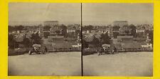 Photo Albuminé Stéréo Arcachon Anonyme Vers 1870/80