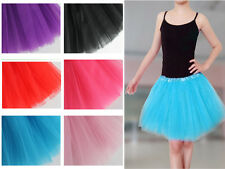 Pretty Toddler Children  Girls Dance Short Mini Tutu Bubble Pettiskirt Dress