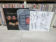 Boyz II Men – Christmas Interpretations RARE 1993 KOREA ORIG LP INSERT