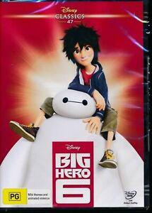 Disney Classics 47 Big Hero 6 DVD NEW Factory Sealed Region 4
