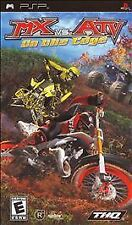 MX vs. ATV Unleashed On the Edge UMD PSP GAME SONY PLAYSTATION PORTABLE