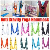 Yoga Swing Trapeze Anti Gravity Yoga Hammock Inversion for Aerial Yoga Prop NEW.