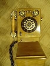 Crosley Wood Wall Phone Model Cr91 with instruction manual, Limited Edition