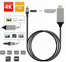 2M Type C to HDMI Cable Converter 4K HDTV USB Adapter 4 Samsung Galaxy Huawei UK