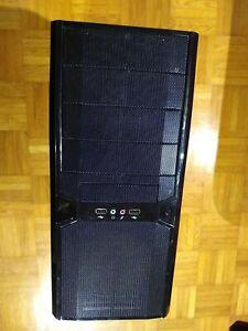 Schwarze Computer Gehäuse PC Case