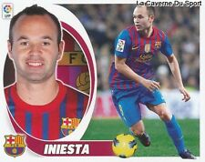 11 INIESTA ESPANA FC. BARCELONA STICKER CROMO LIGA 2013 PANINI