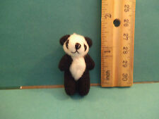Barbie 1:6 Miniature Plush Toy Panda Bear for Tommy or Kelly