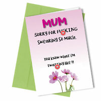 #127 Birthday / Mothers Day Greetings Card Comedy Rude Funny Humour Love Cheeky
