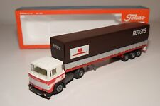 S TEKNO SCANIA 141 RUTGES TRUCK WITH TRAILER MINT BOXED
