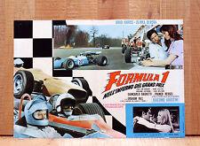 FORMULA 1 NELL'INFERNO DEL GRAND PRIX fotobusta poster Agostini Berova CM1