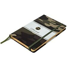 Camoleaf Notebook Classic Hardcover Premium Printed Camouflage Cover Design