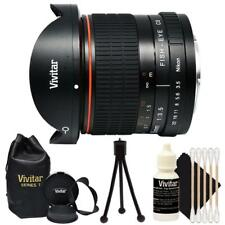 Vivitar 8mm f/3.5 HD Aspherical Fisheye Lens for Nikon SLR Cameras D3400 D3500
