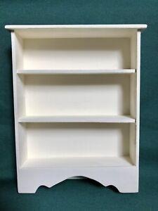 Miniature Dollhouse Bookcase 1:12