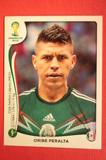 Panini BRASIL 2014 N. 86 PERALTA MEXICO WITH BLACK BACK TOPMINT!!