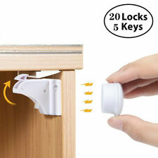New listing Magnetic Cabinet Locks Baby Safety Invisible Child Kids Proof Cupboard Drawer Us