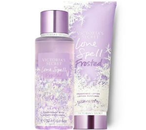 Victoria's Secret Love Spell Frosted Fragrance Lotion + Fragrance Mist Duo Set